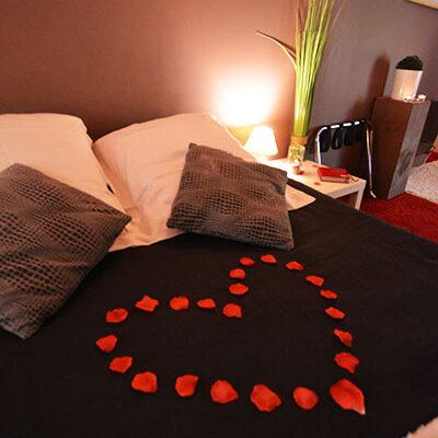chambre zen pour amoureux